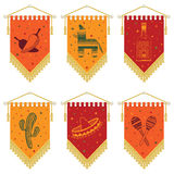 Mexican Pennants Stock Photography