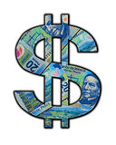 Mexican Peso Cash Sign Stock Photography