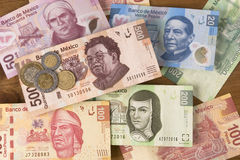 Mexican Pesos Royalty Free Stock Photos