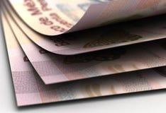 Mexican Pesos Closeup Royalty Free Stock Image