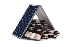 Mexican Pesos Energy Saving Stock Image