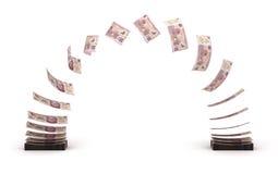Mexican Pesos Transfer Royalty Free Stock Photo