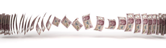 Mexican Pesos Transfer Stock Images