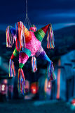 Mexican pinata used in posadas and birthdays. Colorful mexican pinata used in birthdays Royalty Free Stock Photo