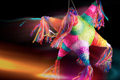 Mexican pinata used in posadas and birthdays. Colorful mexican pinata used in birthdays Royalty Free Stock Images