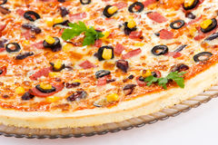 Mexican Pizza Royalty Free Stock Photo