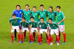 Mexican players Royalty Free Stock Photos