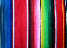 Mexican Poncho Background. A Colorful Mexican Poncho Background Stock Photos