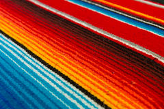 Mexican Poncho Stock Photography