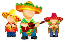Mexican pop group Stock Photo