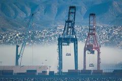 Mexican port of Ensenada stock images