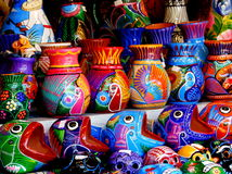 Mexican pottery Royalty Free Stock Image