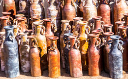 Mexican Pottery Vases Stock Images