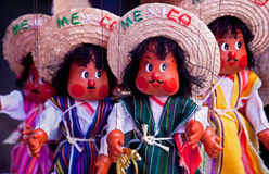 Mexican puppets Royalty Free Stock Images
