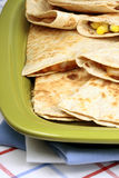 Mexican quesadila stock images