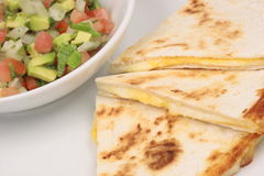 Mexican quesadilla Royalty Free Stock Photos