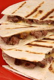 Mexican quesadilla royalty free stock images