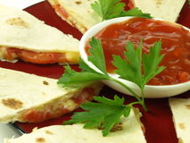 Mexican quesadilla, closeup Stock Image