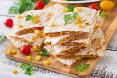 ... -quesadilla-wrap-chicken-corn-sweet-pepper-fresh-salad-59500972.jpg