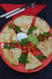 Mexican Quesadillas Royalty Free Stock Photos