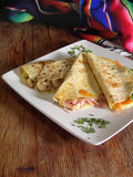 Mexican quesadillas Royalty Free Stock Photography
