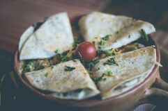 Mexican quesadillas Stock Images