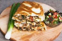 Mexican quesadillas royalty free stock image