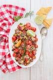 Mexican quinoa salad Stock Images