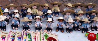 Mexican rag boy dolls Royalty Free Stock Photography