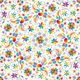 Mexican Rainbow Seamless Pattern Royalty Free Stock Image