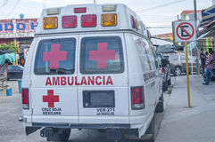 Mexican Red Cross Royalty Free Stock Images
