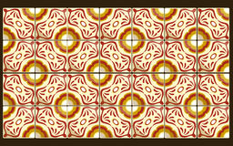Mexican red tiles Royalty Free Stock Photo