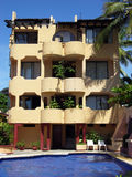 Mexican Resort Building Royalty Free Stock Photography