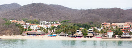 Mexican Resort Panorama Royalty Free Stock Image
