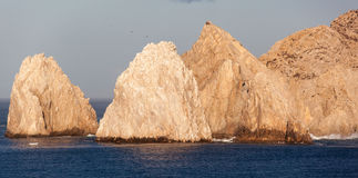 Mexican Resort Rocks Stock Photos