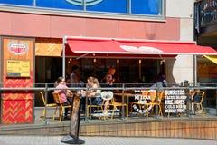 Mexican restaurant, Birmingham. Royalty Free Stock Photography