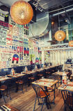 Mexican restaurant in contemporary style Stock Photo