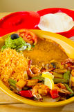 Mexican Restaurant Food Stock Image