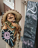 Mexican restaurant sign Stock Photo