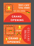 Mexican restaurant template Royalty Free Stock Photo