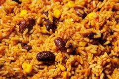 Mexican rice. Royalty Free Stock Photography
