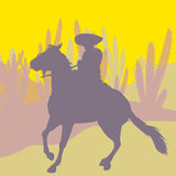 Mexican rider Royalty Free Stock Photo