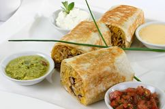 Mexican Roll Sandwich Royalty Free Stock Images