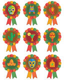 Mexican rosettes stock illustration