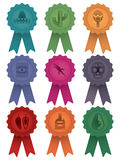 Mexican rosettes Royalty Free Stock Images