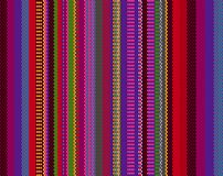 Mexican rug pattern. serape stripes vector. Detail seamless background with mexican color. texture pattern for continuous replicate. mexican rug pattern. serape royalty free illustration