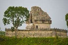 Mexican ruins Royalty Free Stock Image