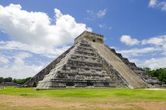 Mexican Ruins at Chichen Itza. Most famous Mexican ruins at Chichen Itza Royalty Free Stock Images