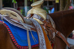 Mexican Saddle Royalty Free Stock Photo