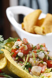 Mexican salad Royalty Free Stock Photos